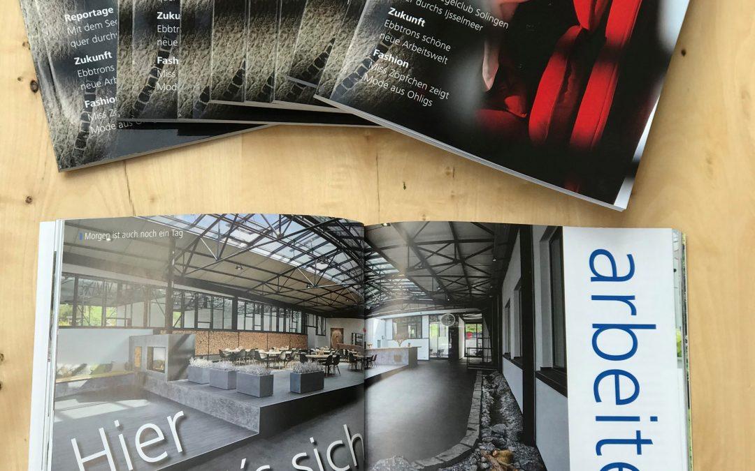 Das Engelbert Magazin berichtet vom ebbtron