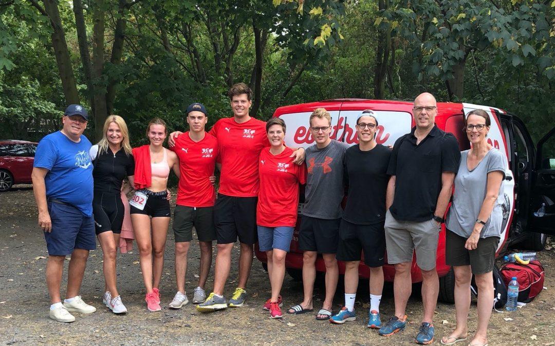 ebbtron beim Leipziger Triathlon