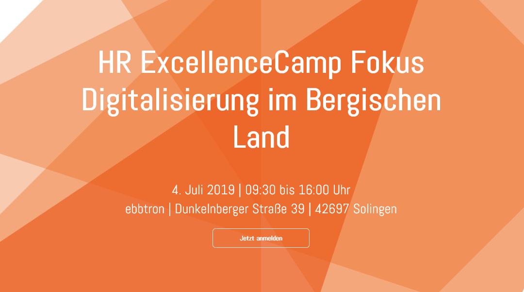 2. HR ExcellenceCamp im Bergischen Land